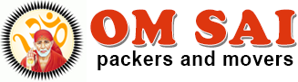 om sai packers and movers logo
